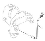 Датчик кислорода [EURO Ⅲ]. Артикул: gmk-270-70-040