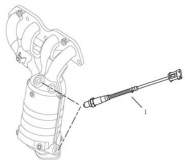 Датчик кислорода [EURO Ⅳ]. Артикул: gmk-270-70-041