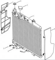 Радіатор [AT]. Артикул: gmk-280-80-051