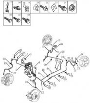 Трубопровод тормозной системы [ABS MK70]. Артикул: gmk-470-70-053