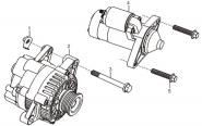 Стартер и генератор. Артикул: l320-1-18