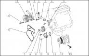 Передняя часть ДВС. Артикул: lifan-x60-1-5