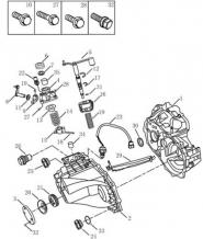 Корпус трансмісії [JL-S160A]. Артикул: mk-320-24-041