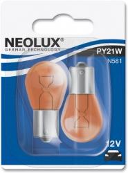 Лампа галогенна NEOLUXE (1 контакт червона) (ком-кт 2 шт). Артикул: py21w12v