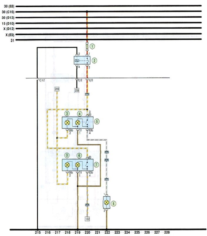 Чери амулет электрическая схема