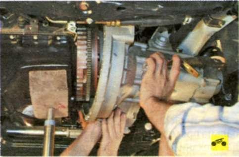 Как снять коробку из машины ваз 2114 видео