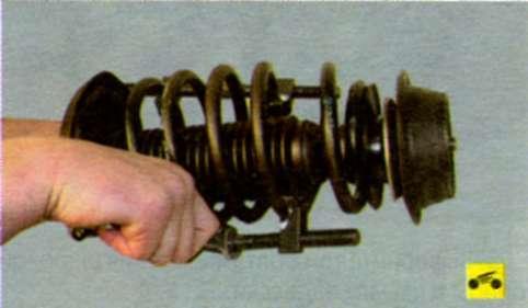 приспособление для сжатия пружины