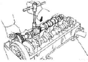 Регулювання зазору впускних клапанів