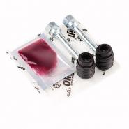 Ремкомплект суппорта переднего (направляющие + пыльники) ORIJI. Артикул: 1014001809/1014001810