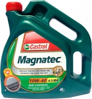 Масло моторное 10W-40 4L CASTROL MAGNATEC A3/B4. Артикул: 10w-40