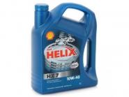 Масло моторне 10W-40 4L SHELL HELIX HX7. Артикул: 10w-40