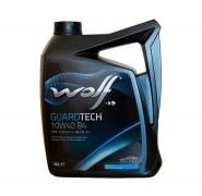 Масло моторне 10W-40 4L WOLF GUARDTECH B4. Артикул: 10w-40