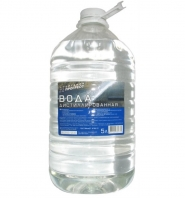 Дистильована вода 5л.