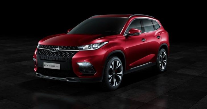 Chery Exceed TX. Фото 1